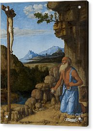Saint Jerome In The Wilderness Acrylic Print