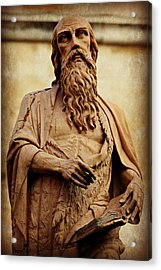 Saint Jerome Acrylic Print by Stephen Stookey