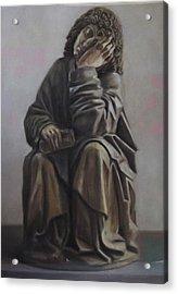 Saint John Dream Acrylic Print by Paez  Antonio