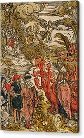 Saint John In The Desert Acrylic Print