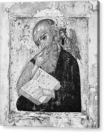 Saint John The Evangelist In Silence Acrylic Print