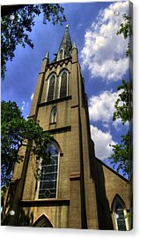 Saint Johns Episcopal Church Savannah Georgia Acrylic Print