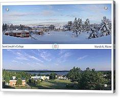 Saint Joseph's College 2013 Acrylic Print by John Hufstader