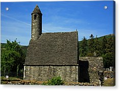 Saint Kevin's Church Acrylic Print by Aidan Moran