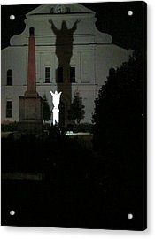 Saint Louis Cathedral Courtyard - New Orleans La Acrylic Print