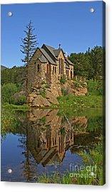 Saint Malo Reflection Acrylic Print