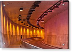 Saint-marc Tunnel Scene 1 Acrylic Print by Eric Soucy