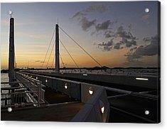 Saint Martin Causeway Bridge Acrylic Print