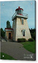 Saint Martin's Lighthouse Acrylic Print by Kathleen Struckle
