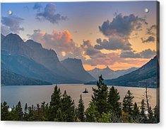 Saint Mary Lake Acrylic Print