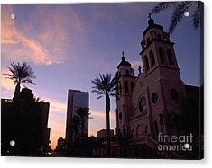 Saint Marys Basilica Phoenix Acrylic Print