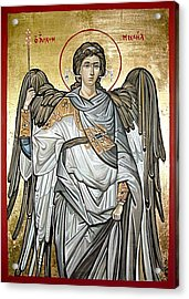 Saint Michael Acrylic Print by Filip Mihail