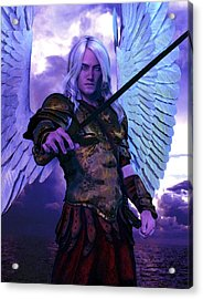 Saint Michael The Archangel/2 Acrylic Print