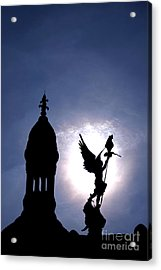Saint Michael The Archangel  Acrylic Print by Olivier Le Queinec