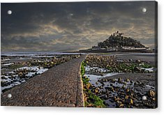 Saint Michael's Mount Cornwal Uk Acrylic Print