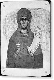 Saint Parasceva Acrylic Print