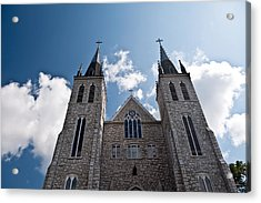 Acrylic Print featuring the photograph Saint Paul Cathedral In Midland Ontario by Marek Poplawski
