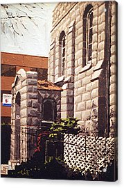 Saint Paul Acrylic Print by Paul Guyer