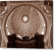 Saint Peter Dome Acrylic Print