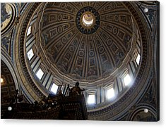 Saint Peter's Light Acrylic Print by Aaron Bedell