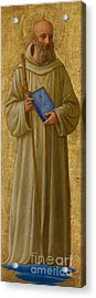Saint Romuald Acrylic Print by Fra Angelico