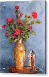 Saint Therese Of The Little Flower Acrylic Print