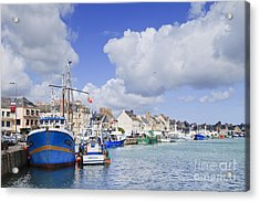 Saint Vaast La Hougue Normandy France Acrylic Print by Colin and Linda McKie