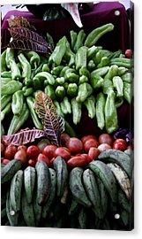 Salad Fixings Acrylic Print
