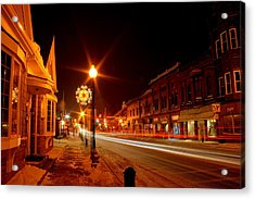 Salem Ohio Christmas Acrylic Print