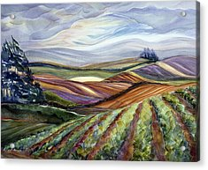 Salinas Tapestry Acrylic Print by Jen Norton