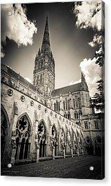 Salisbury - For Eugene Atget Acrylic Print