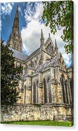 Salisbury In The Morning Acrylic Print by Ross Henton