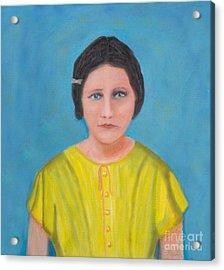 Sally Stevens Marcum Ky Acrylic Print by Iris Richardson
