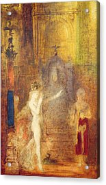 Salome Dancing Before Herod Acrylic Print by Gustave Moreau