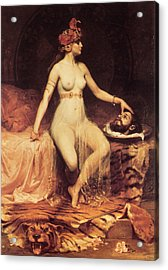 Salome Acrylic Print by Pierre Bonnaud