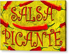 Acrylic Print featuring the photograph Salsa Picante by Selke Boris