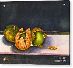 Salsa Verde Acrylic Print by Genevieve Brown
