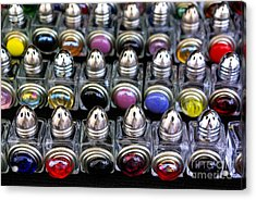 Acrylic Print featuring the photograph Salt And Pepper Soldiers by John S
