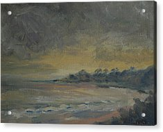 Salt Creek Sunset Acrylic Print