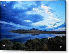 Salt Lake Antelope Island Acrylic Print by Matt Harang