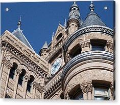 Acrylic Print featuring the photograph Salt Lake City - City Hall - 1 by Ely Arsha