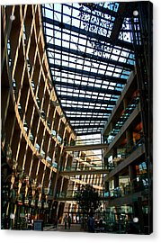 Salt Lake City Public Library Acrylic Print