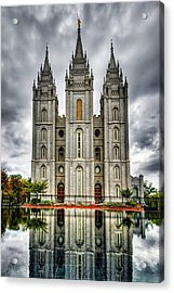 Salt Lake City Temple Acrylic Print