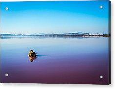 Salt Lake Torrevieja. Acrylic Print