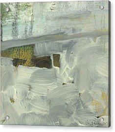 Acrylic Print featuring the painting Salt Marsh C2013 by Paul Ashby