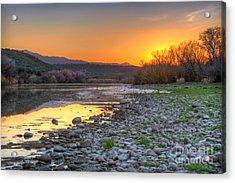 Salt River Bulldog Canyon Acrylic Print