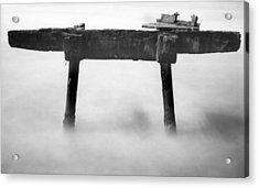Acrylic Print featuring the photograph Salt Water by Amarildo Correa