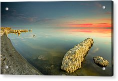 Salton Sea Sunset Acrylic Print
