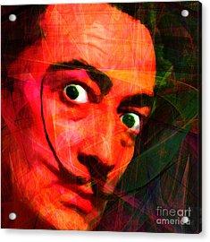 Salvador Dali 20141213 V2 Square Acrylic Print