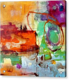 Salvage Acrylic Print by Katie Black